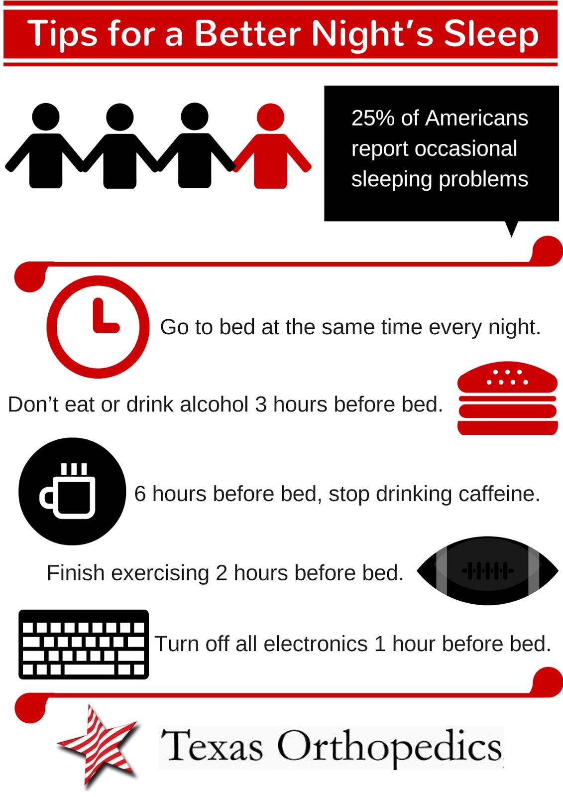 mental health sleep basics tips for better sleep.