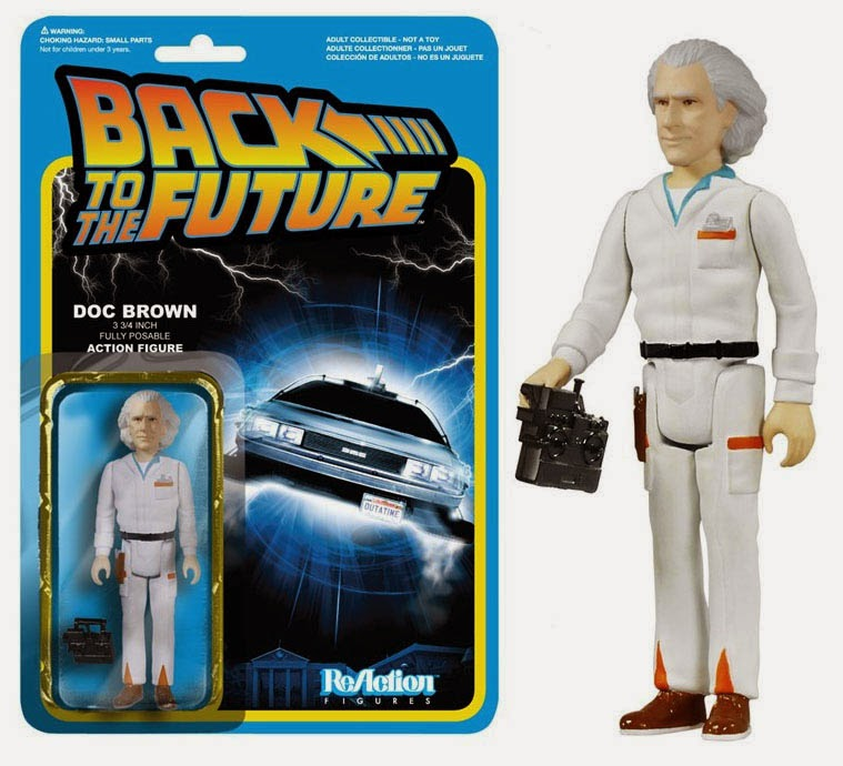 Figura Doc Brown Regreso al Futuro