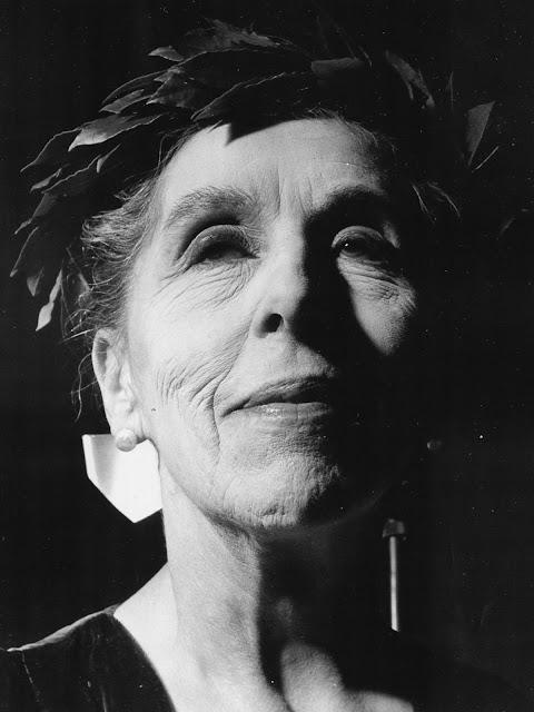 Karen Blixen fik boghandlerprisen De gyldne laurbær i 1952