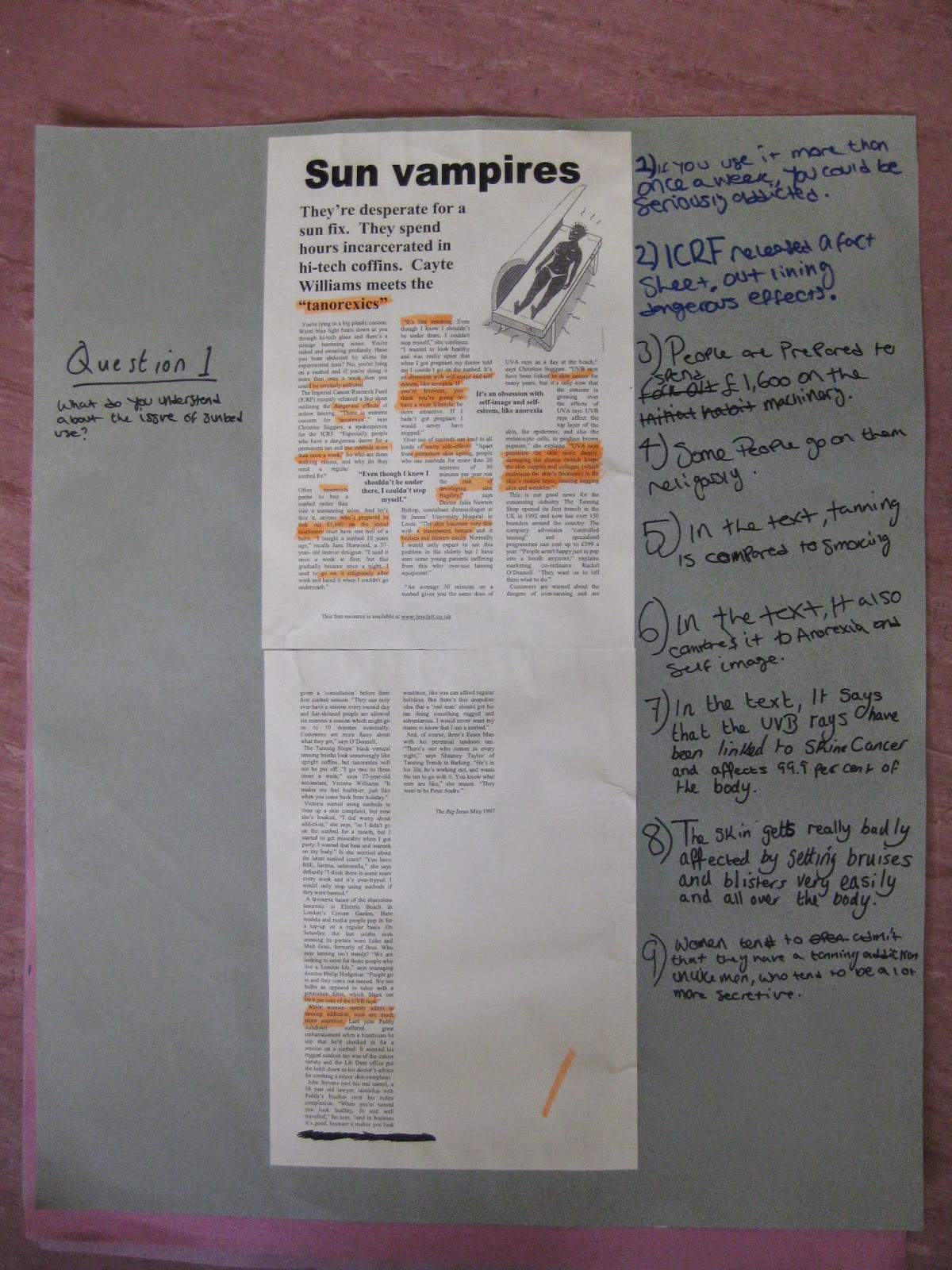sun vampires possible questions Essay on sun vampires may becaome possible soon expressionist film of 'nosferatu' and turned it into post modernist text that questions reality.