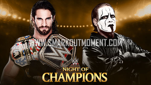 WWE Night of Champions 2015 PPV World Heavyweight Championship Match