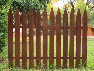 valla jardín montaje de vallas