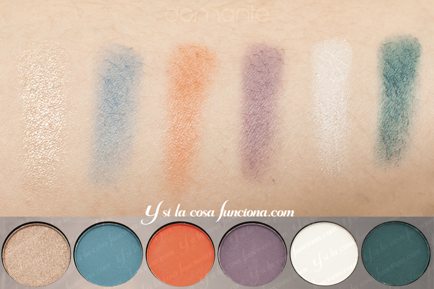 Swatches first line del mar VOLUME 1