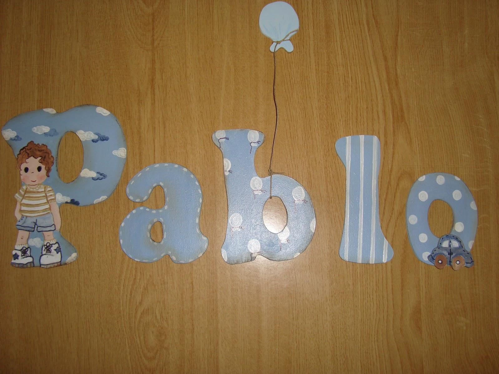 Conmuchomimo siluetas cuadros tablillas y mucho m s letras infantiles decoradas - Letras decoradas infantiles ...