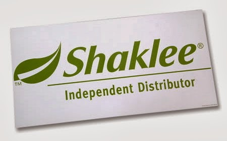 Shaklee Independent Distributor No.: 1070397
