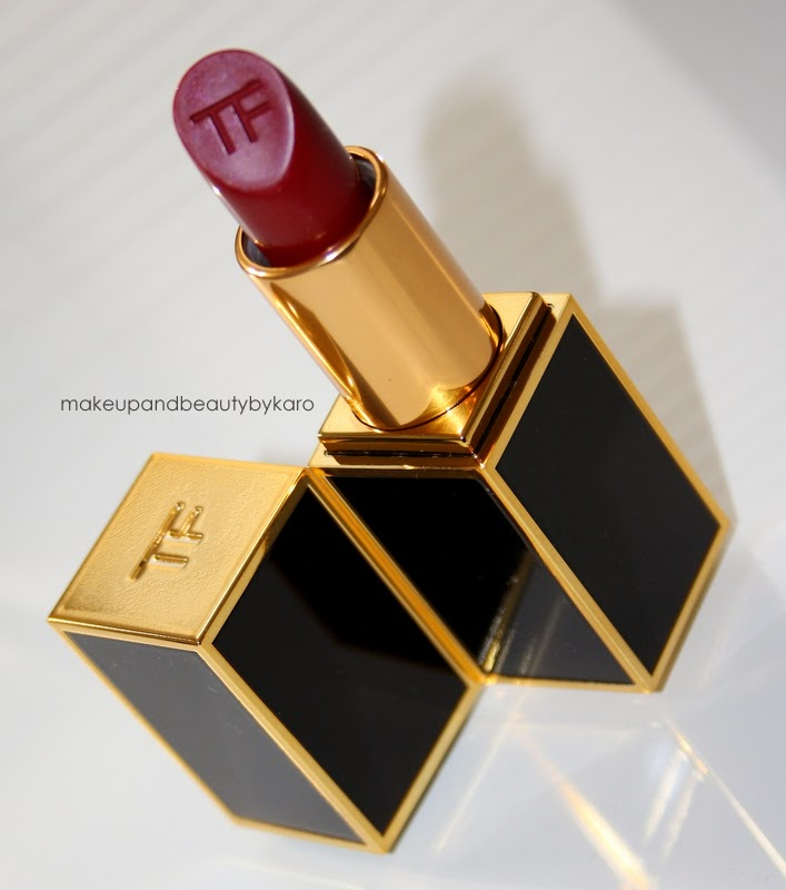 makeup beauty by karo tom ford crimson noir lipstick. Black Bedroom Furniture Sets. Home Design Ideas