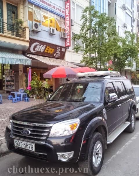 Cho thuê xe 7 chỗ Ford Everest dài hạn - Xe tháng
