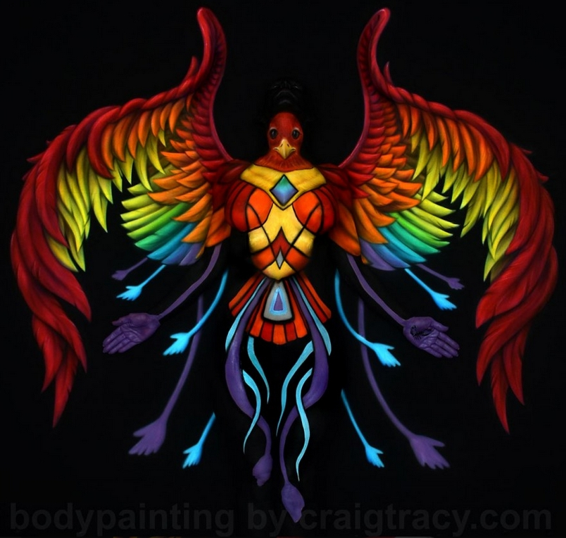 09-True Nature-Craig Tracy-Body-Paintings-on-Skin-Canvases-www-designstack-co