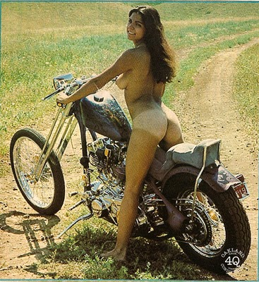 Choppers and chicks college nice breast