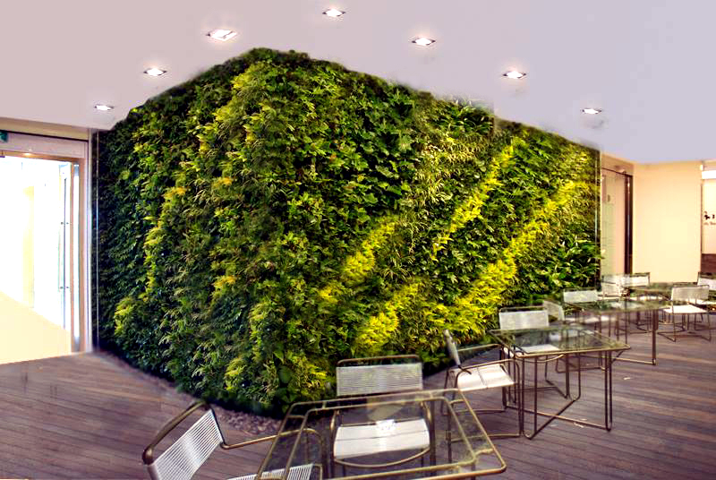 Vertical Garden Concept for Buildings