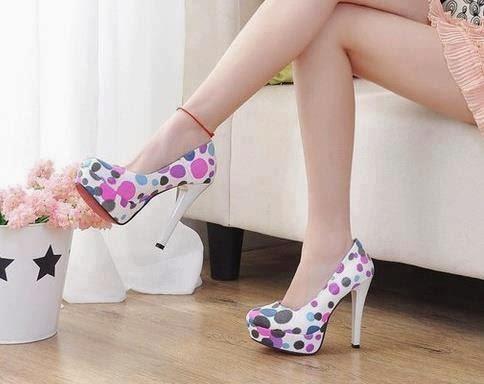 Ladies sexy high heel pumps