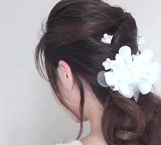 Easy Bridal Hair Style Tutorial
