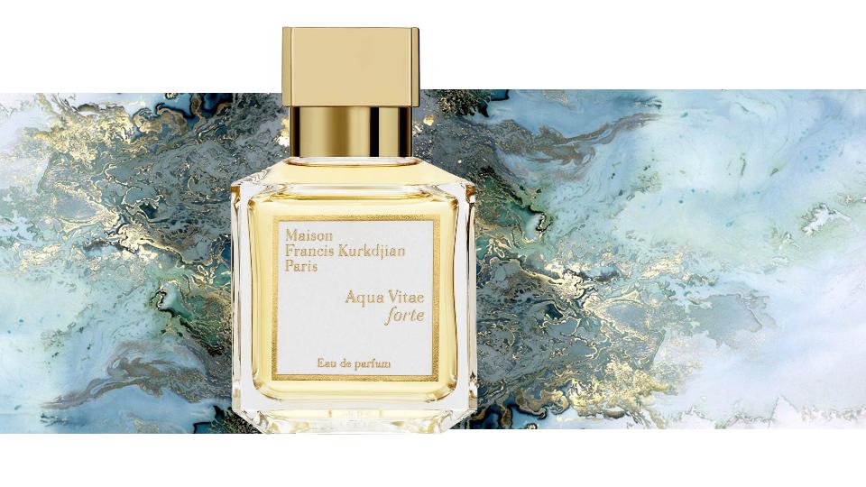 The beauty cove il profumo aqua vitae forte di maison for Aqua vitae forte maison francis kurkdjian