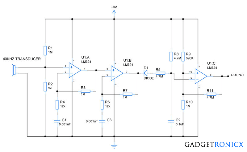 Зарядное устройство на lm324n схема