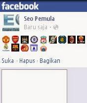 Emoticon Klub Sepak Bola Untuk Facebook