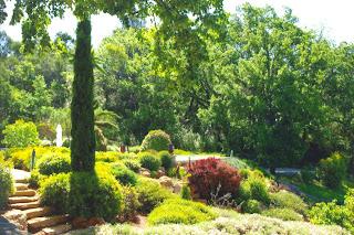 Jardins d'agrément et champ de lavande