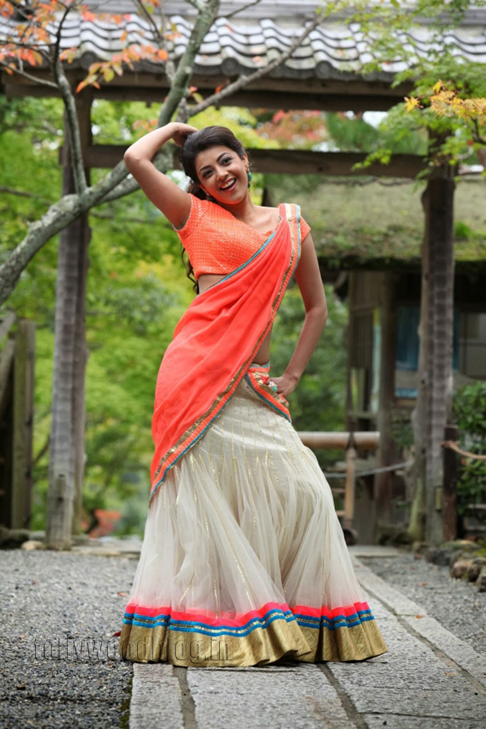 kajal agarwal traditional dress - photo #31