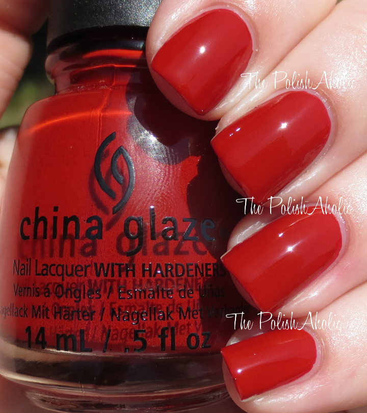 Not The Most Exciting Shade But Its A Nice Red Formula Was Good It Easy To Apply And Opacity Great I Used 2 Coats For Photos Below