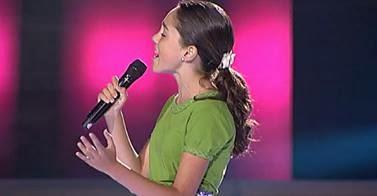 Maria Parrado la voz kids