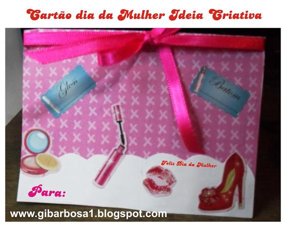 Cartão Dia da Mulher ou Dia das Mães