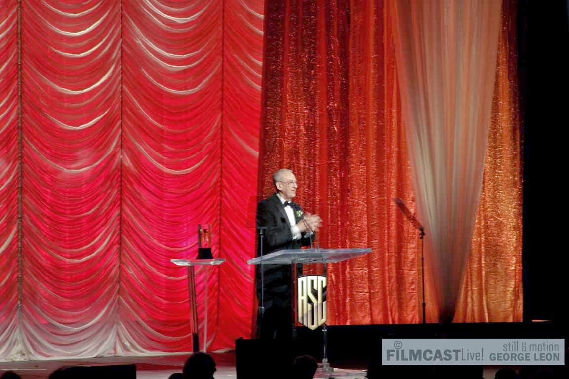 Phil Meheux, BSC was recipient of  the ASC International Award ©george leon/filmcastlive