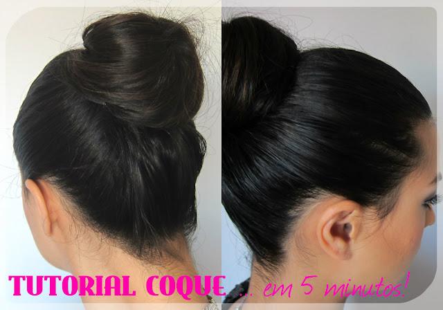 messy top bun - coque alto - penteado - hair tutorial - tutorial de cabelos - apanhado