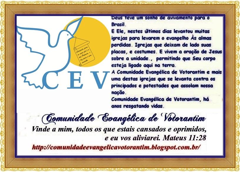 COMUNIDADE EVANGÉLICA DE VOTORANTIM