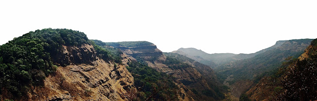 mountains and valleys in matheran