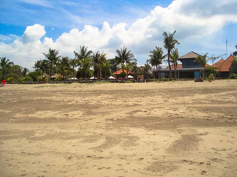 View Lokasi Tanah Dari Arah Pantai Kuta