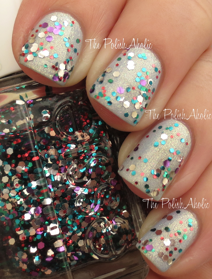 The PolishAholic Essie Holiday 2013 Luxeffects Collection Swatches