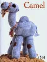 patron gratis camello amigurumi de punto, free knit amigurumi pattern camel