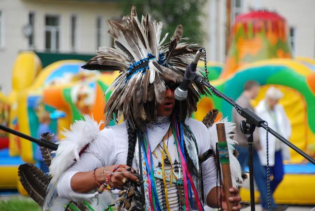 Индейцы в Лысьве