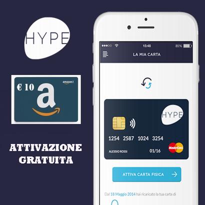 HYPE - € 10 DI CREDITO IN REGALO