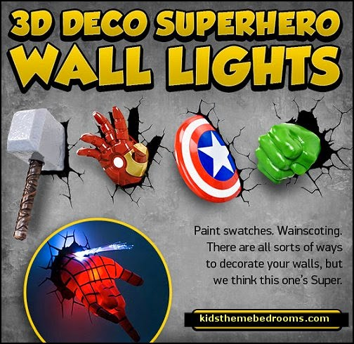 Superior Superheroes Bedroom Ideas   Batman   Spiderman   Superman Decor