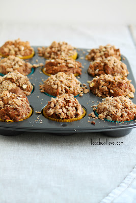 pumpkin oat muffin