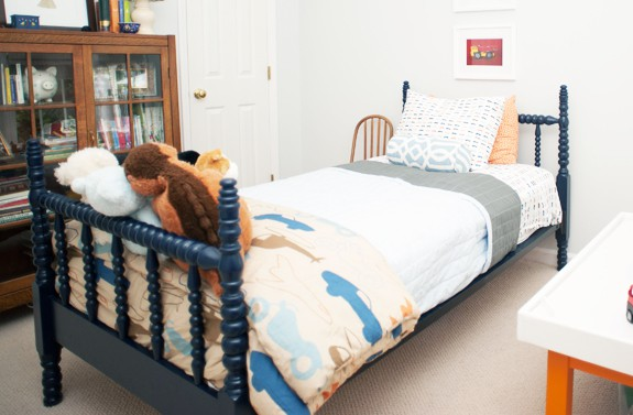 Natty by Design spool beds masculine or feminine