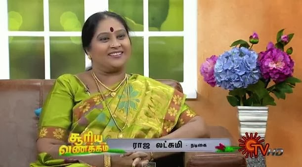 Virundhinar Pakkam – Sun TV Show 04-03-2014 Actress Raja Lakshmi