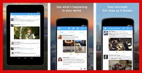 Aplikasi twitter android terbaik versi terbaru