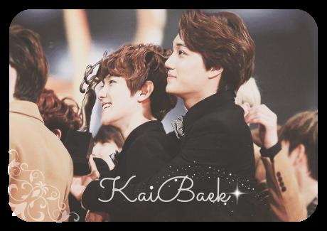 KaiBaek Couble - EXO's Kai + Baekhyun