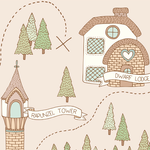 Emma Margaret Illustration Treasure Map 2015