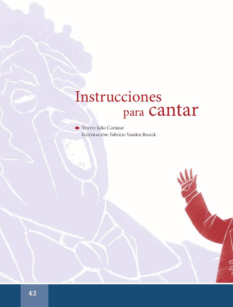 Instrucciones para cantar - Español Lecturas 6to 2014-2015