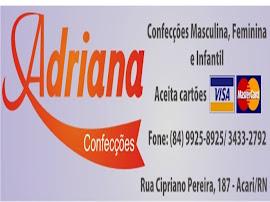 Loja Adriana Confecções