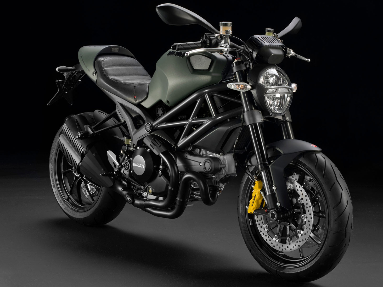 2013 Ducati Monster 1100 EVO Diesel motorcycle photos and ...