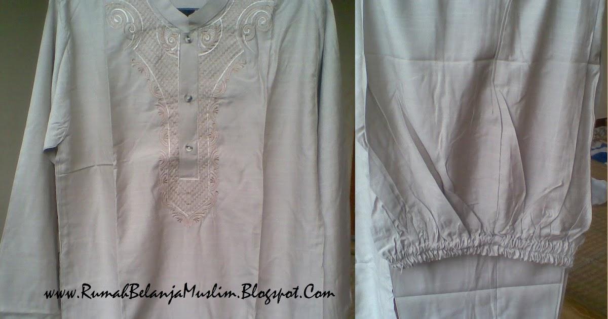 Baju Muslim Koko Pakistan Cokelat