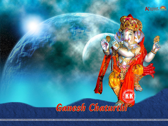 lord ganesha widescreen wallpaper