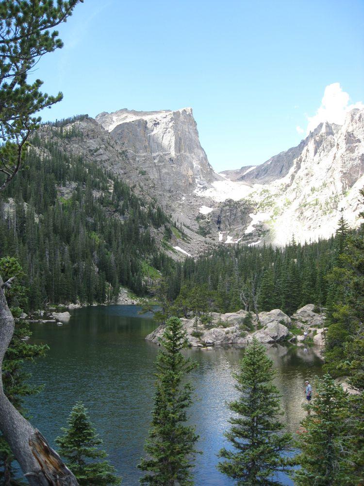 My Mountain Green Rocky Mountain National Park Colorado