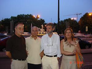 Mis amigos del alma y Rosa en Madrid