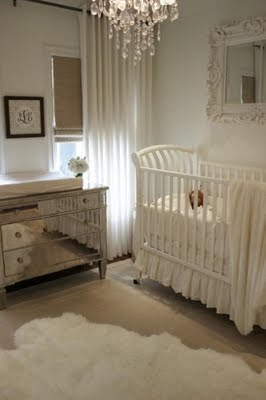 Nursery Inspiration {rainonatinroof.com} #nursery #babygirl