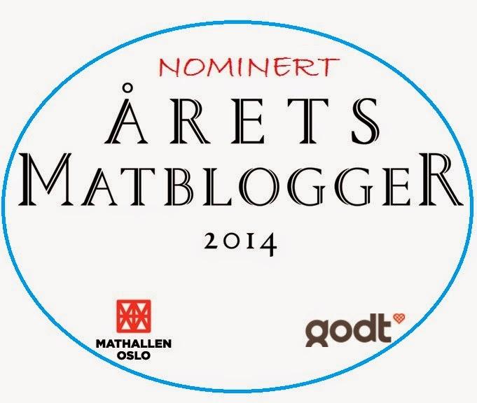 Nominert til Årets Matblogger 2014