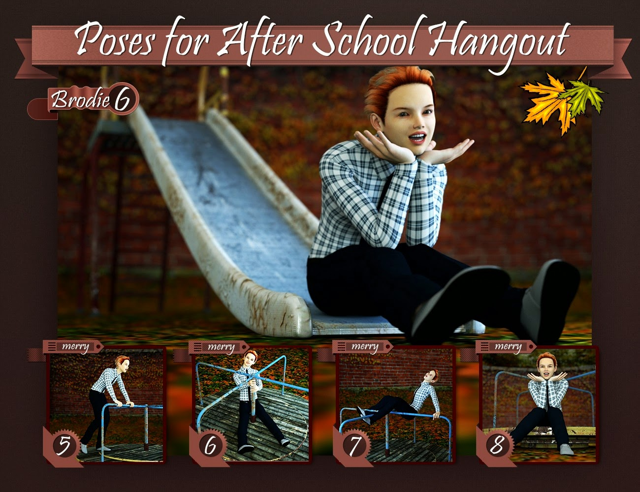 Après pose pour Hangout école